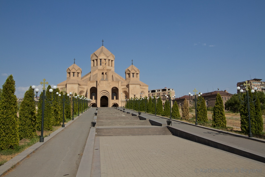 Saint Gregory the Illuminator Cathedral Yerevan Armenia