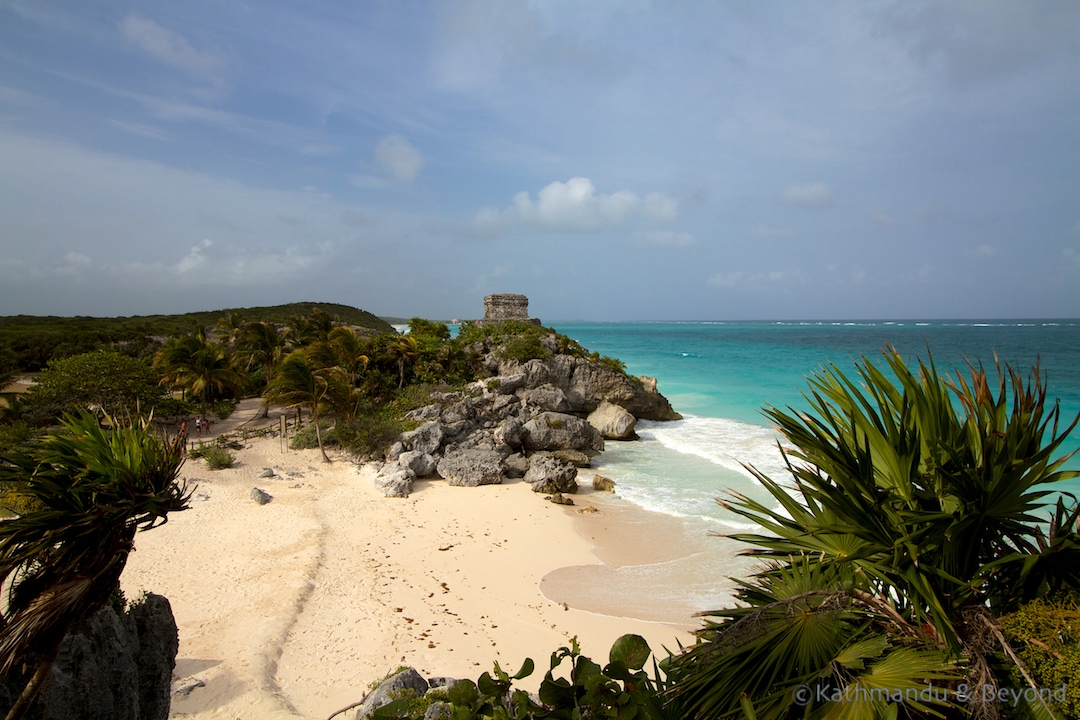 Templo del Dios del Viento Tulum Ruins Tulum Mexico - among the best Mayan ruins in Mexico
