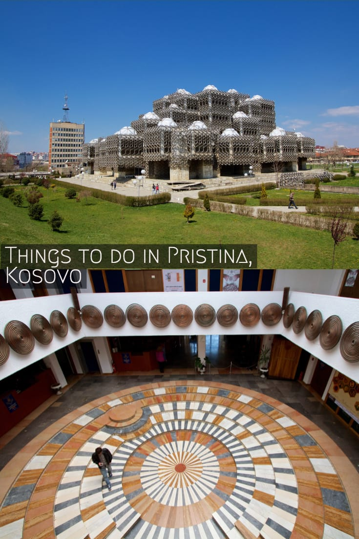 Things to do in Pristina #travel #balkans #pristina #kosovo #cityguide #traveltips