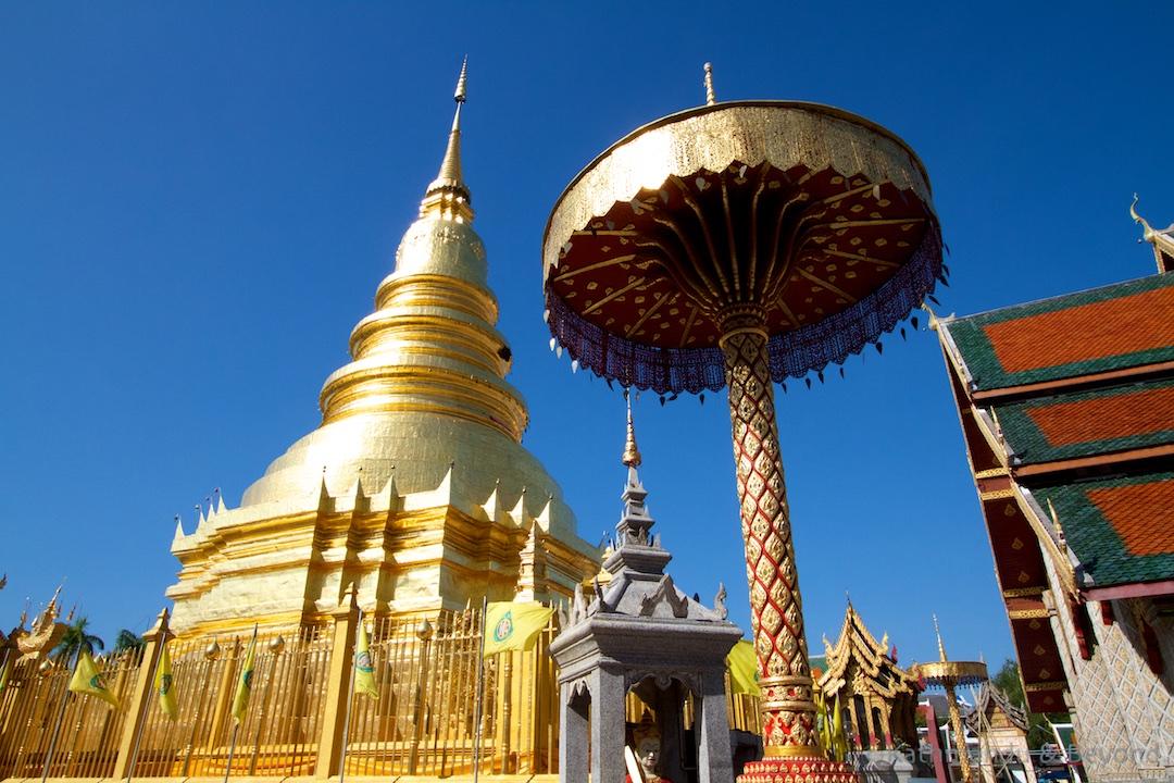 Wat Phrathat Haripunchai Lamphun Thailand |Photographs of Thailand