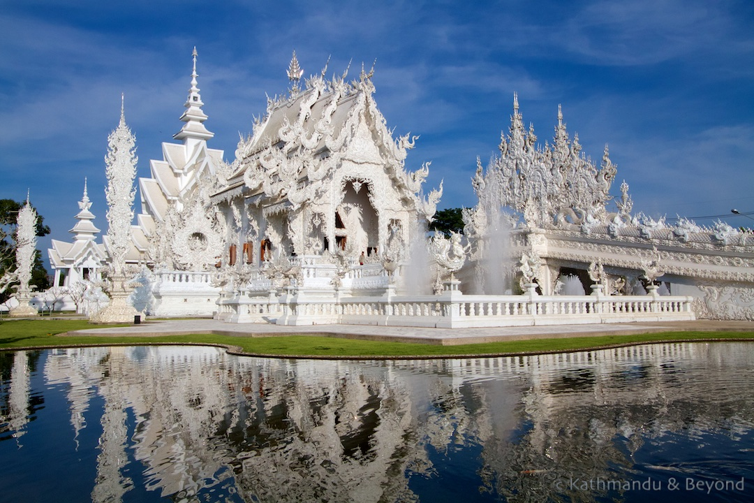 Wat Rong Khun aka the White Temple) in Chiang Rai