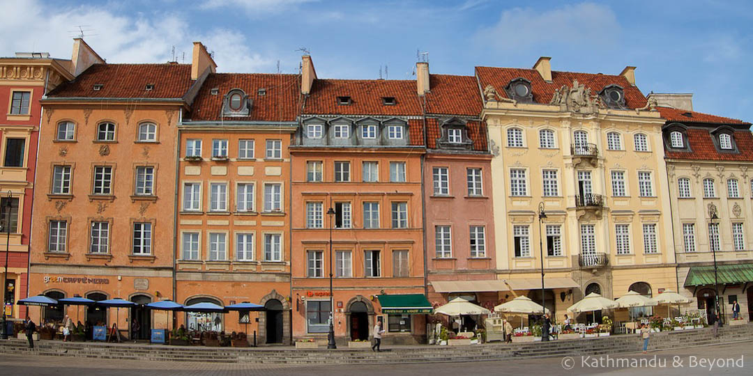 Castle Square Old Town Warsaw Poland | Travel Plans