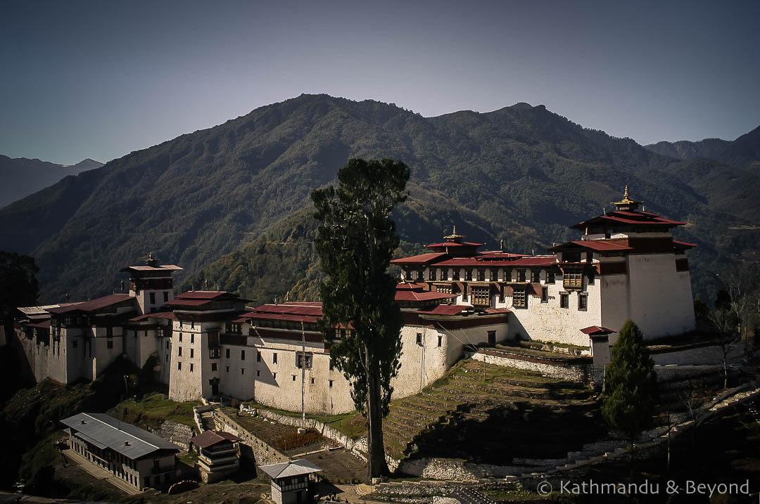 Chokhor Rabtentse Dzong (Trongsar Dzong) 2