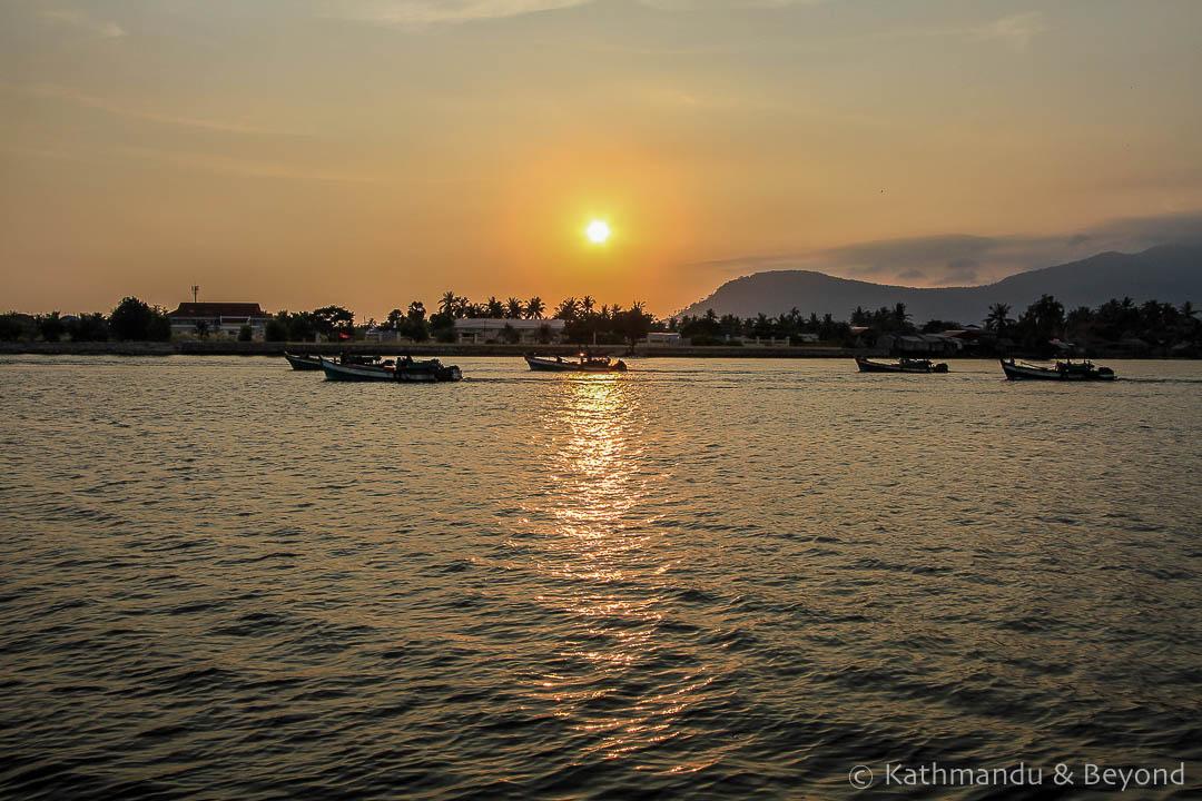 Kampot River Kampot Cambodia