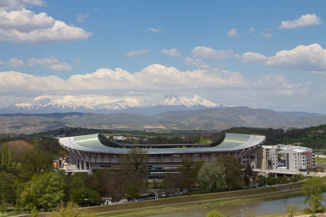 National Arena Philip II of Macedonia Skopje Macedonia