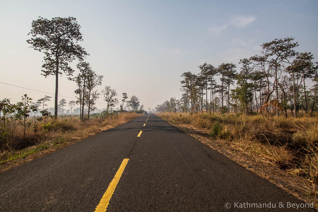The road to Preah Vihear Cambodia (1)