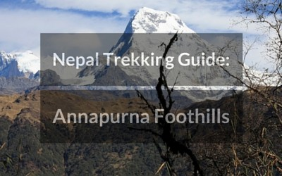 Trekking in Nepal: Annapurna Foothills Trek