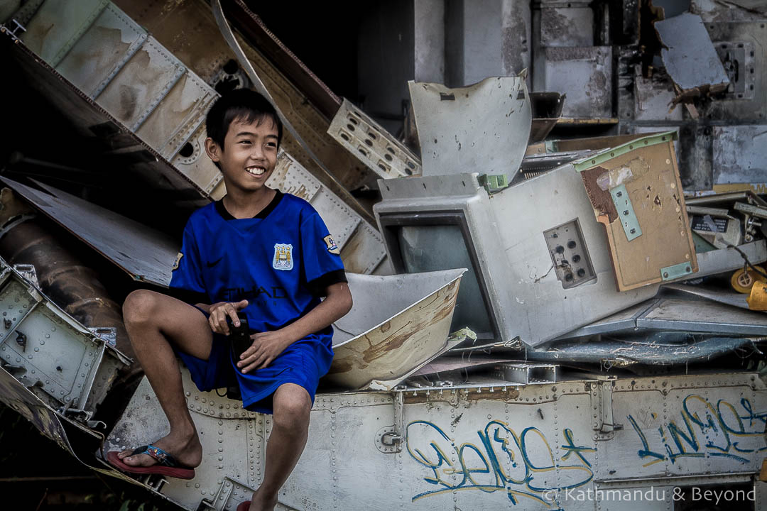 Airplane Graveyard Ramkhamhaeng Bangkok Thailand-52