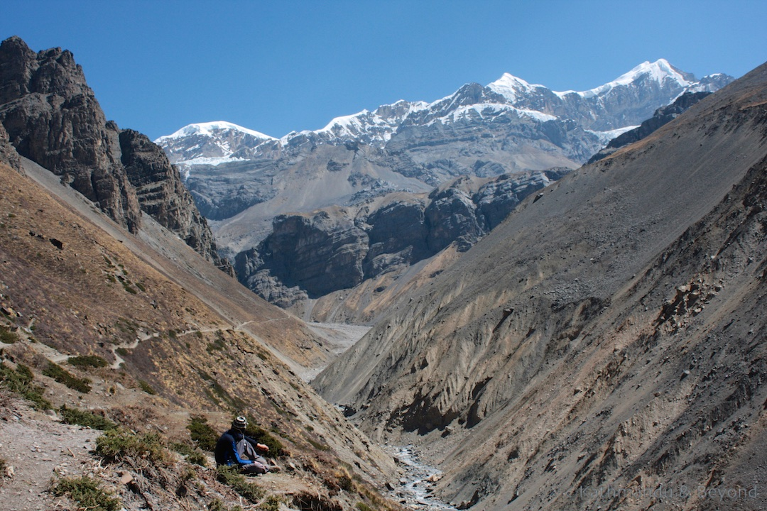 Around Annapurna trek. En route Letdar to Thorong Phedi. High Pass 11