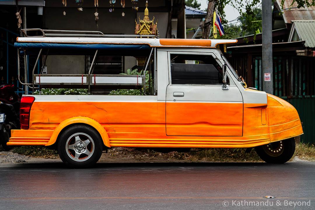 Ayutthaya tuk-tuk Thailand