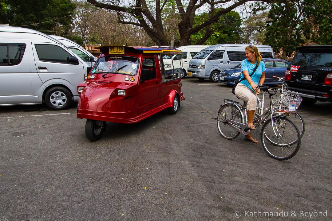 Ayutthaya tuk tuk Thailand