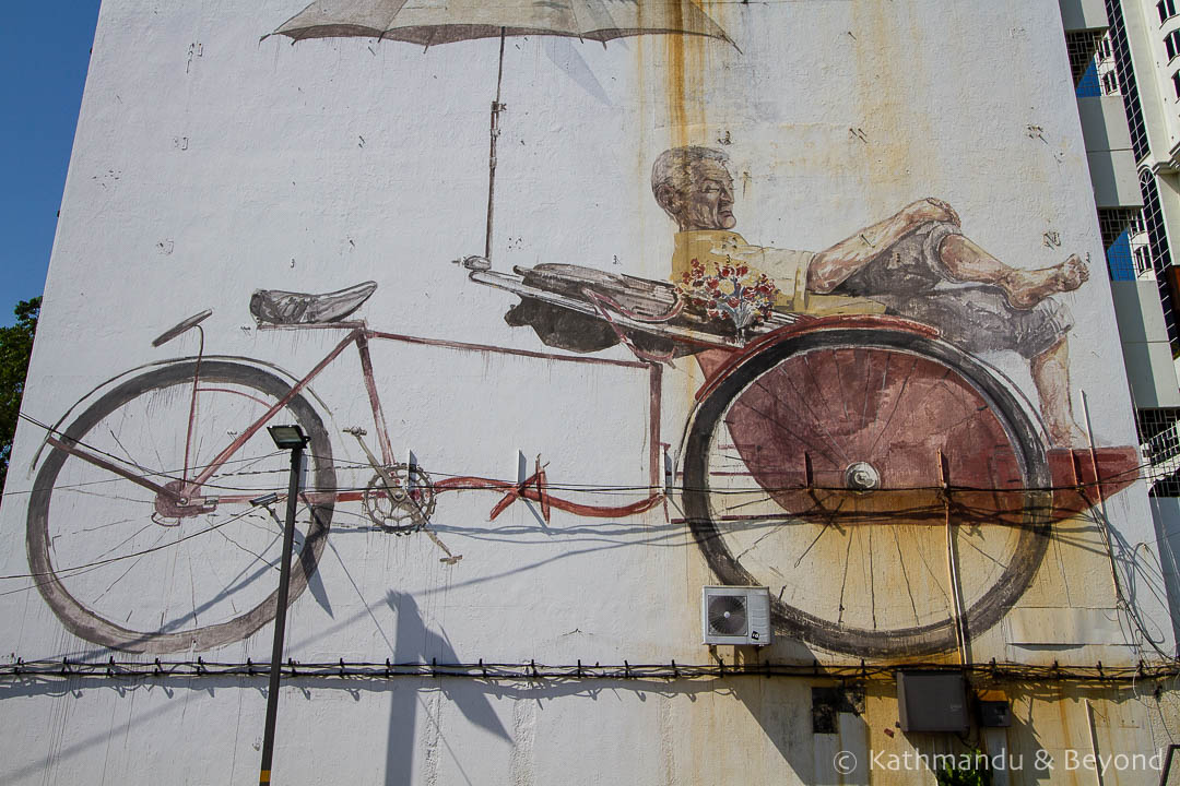 Street Art in George Town Penang