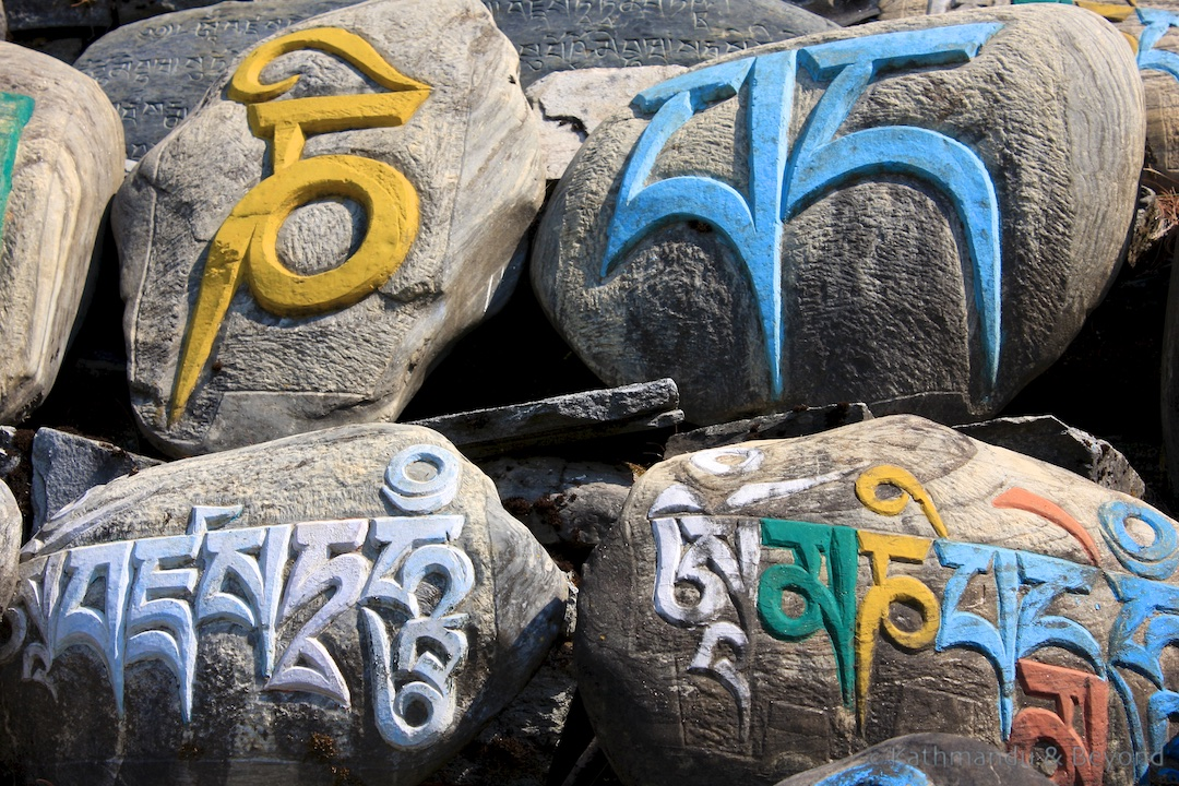 En route Thanchok to Pisang Around Annapurna trek Nepal 4