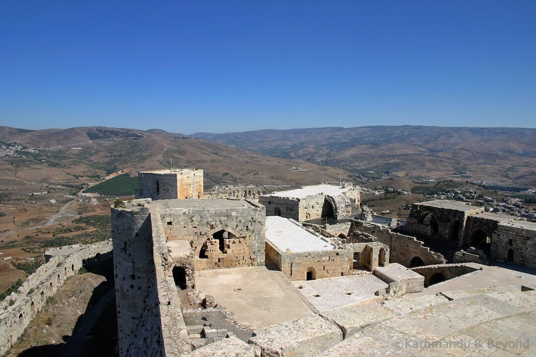 Krak des Chevaliers Syria 6