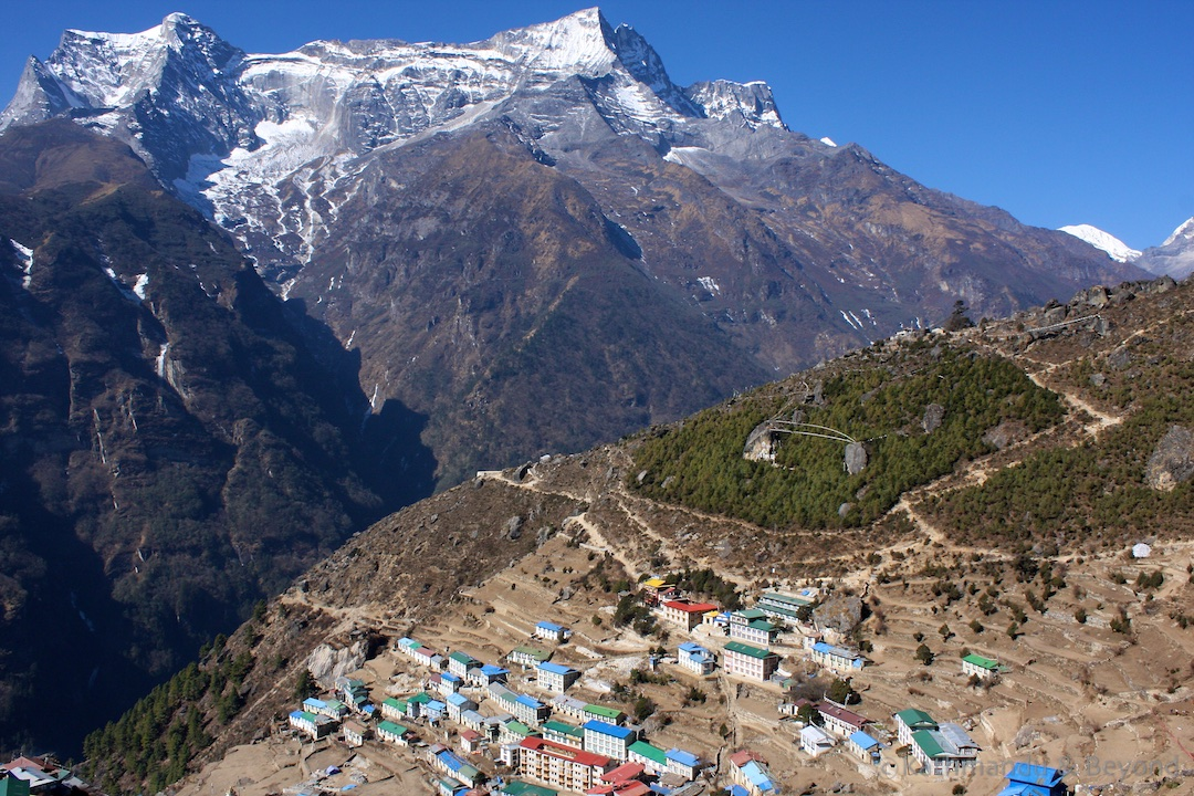 Namche Bazar Everest region Nepal | Gokyo Lake trek Nepal