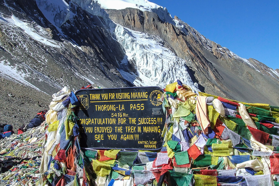 Thorong La pass Around Annapurna trek