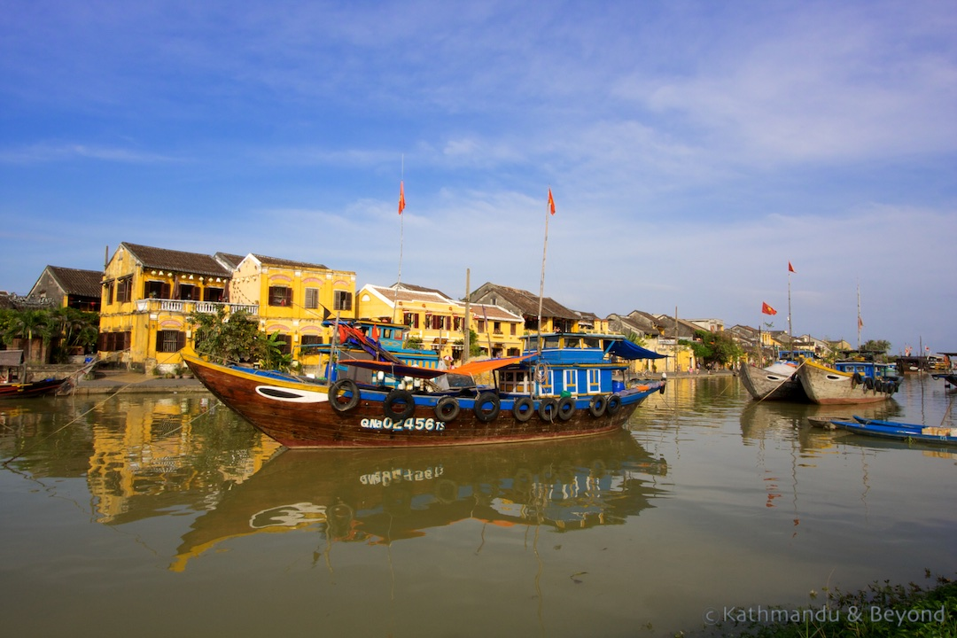 Thu Bon River Ancient Town Hoi An Vietnam