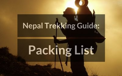 Clothing and Equipment List for Trekking in Nepal
