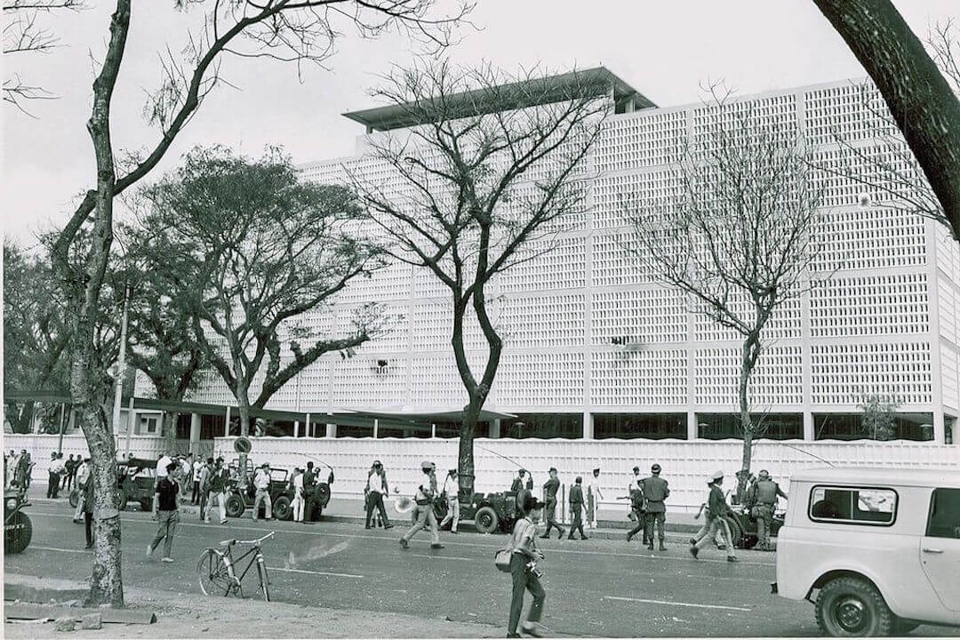 US Embassy Saigon January 1968