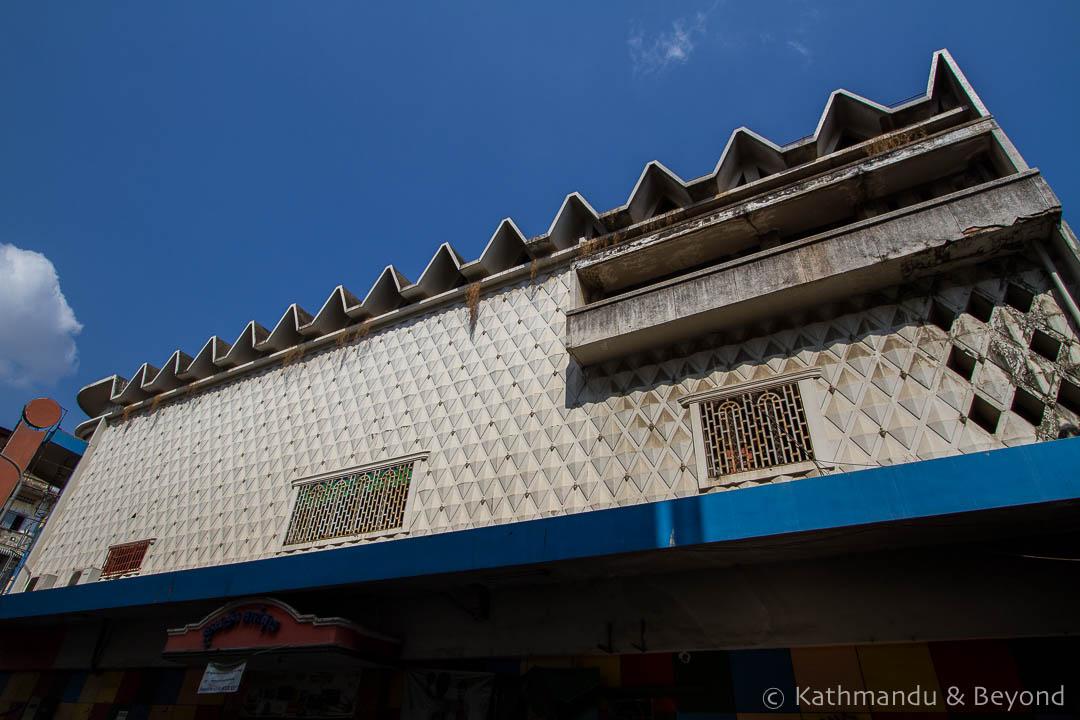 Capitol Cinema Phnom Penh Cambodia   Architecture