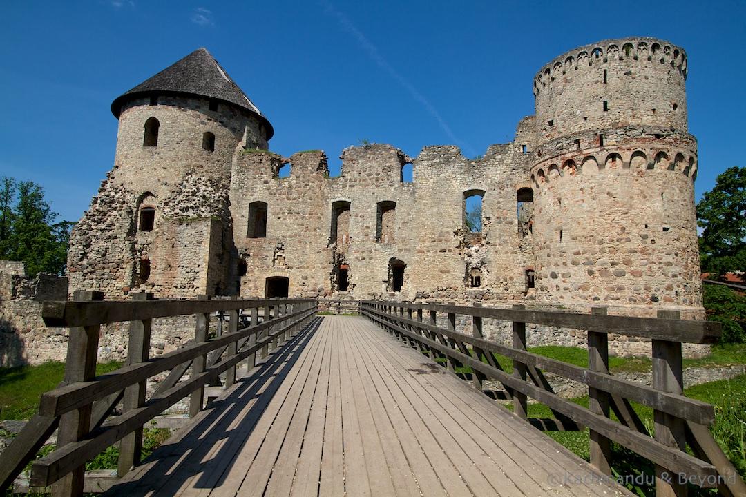 Cesis Castle Cesis Latvia (1)