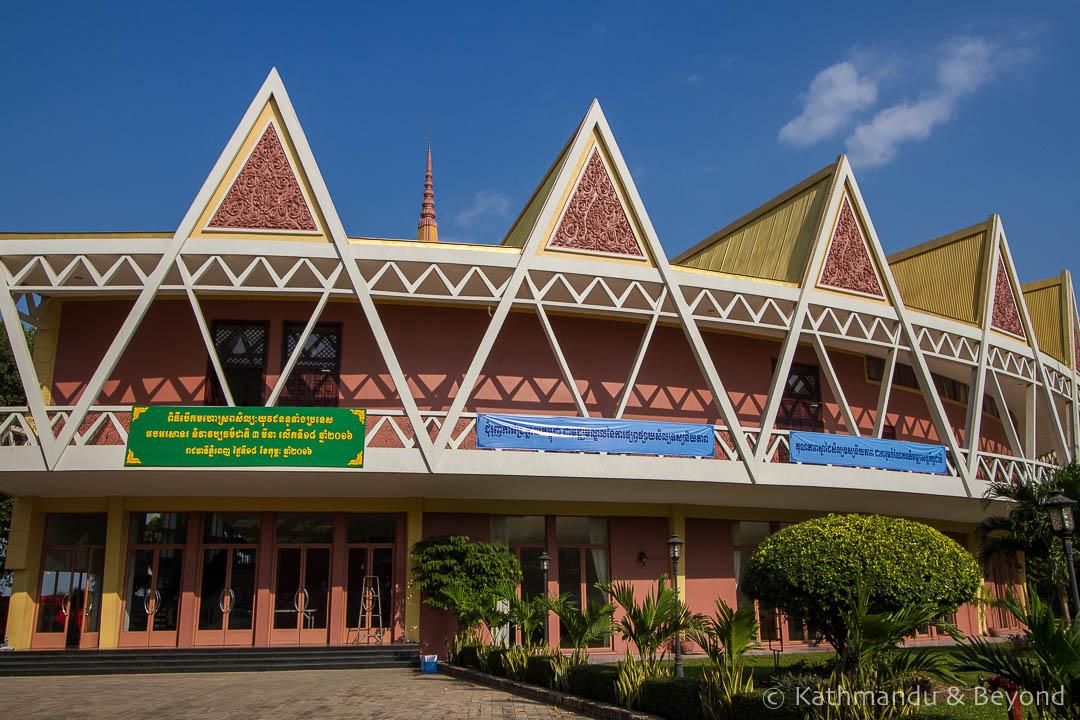 Chaktomuk Conference Hall Phnom Penh Cambodia   Architecture