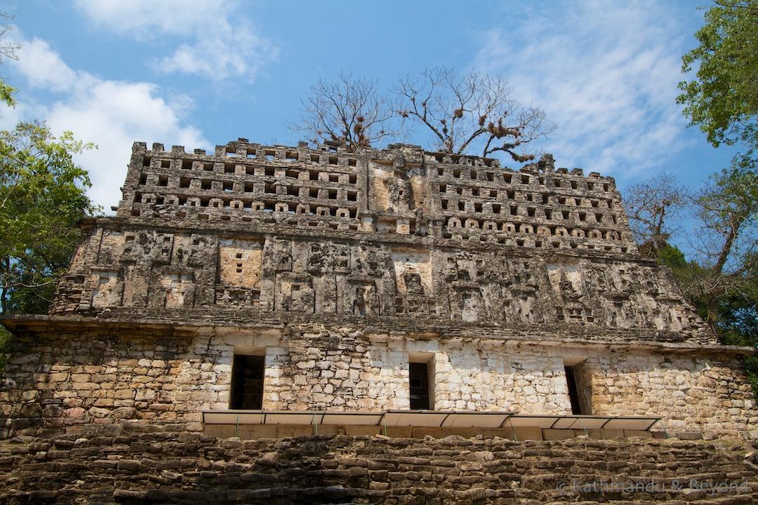 Edificio 33 Gran Plaza Yaxchilan Mexico