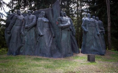 Monument to Soviet Partisans and Underground Workers
