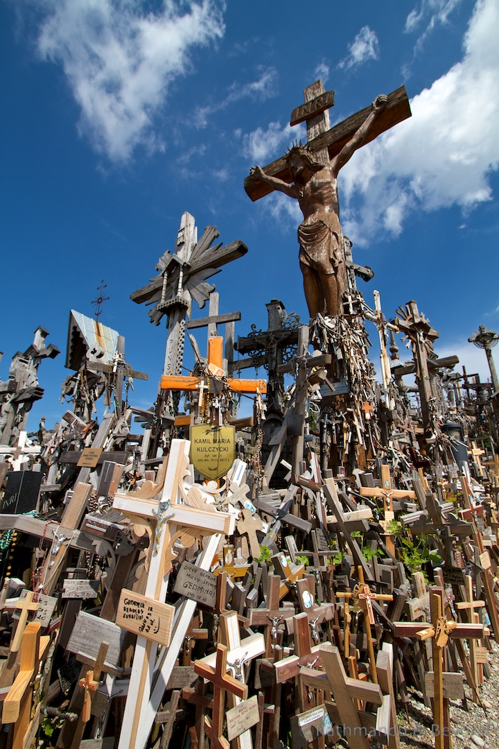 Hill of Crosses Siauliai Lithuania