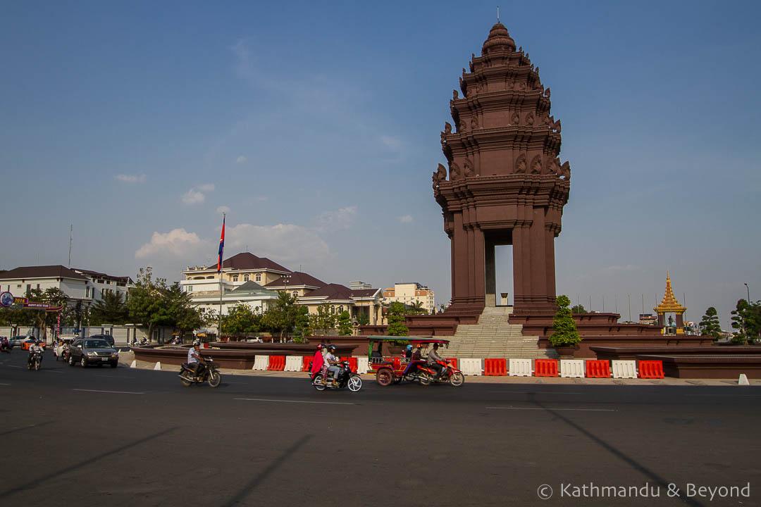 Independence Monument Phnom Penh Cambodia   Architecture