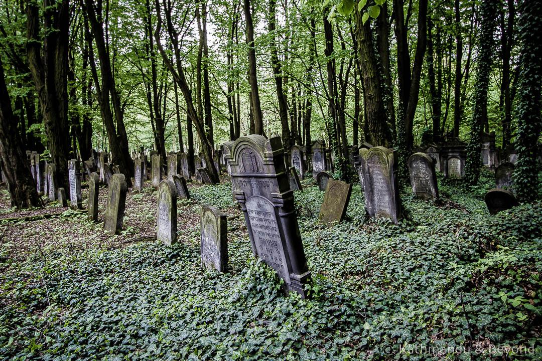 Jewish Cemetery Litzmannstadt (former Jewish ghetto) Lodz Poland-6