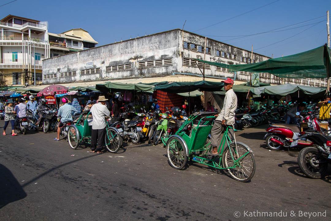 Kandal Market Phnom Penh Cambodia   Architecture
