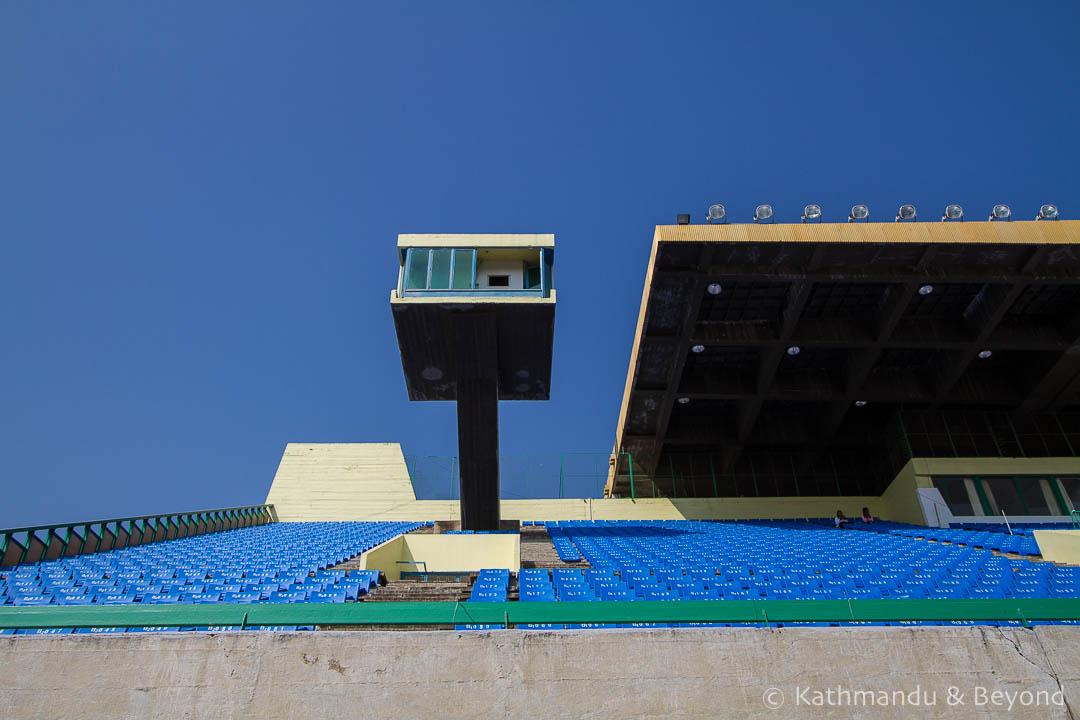 Olympic Stadium Phnom Penh Cambodia   Architecture