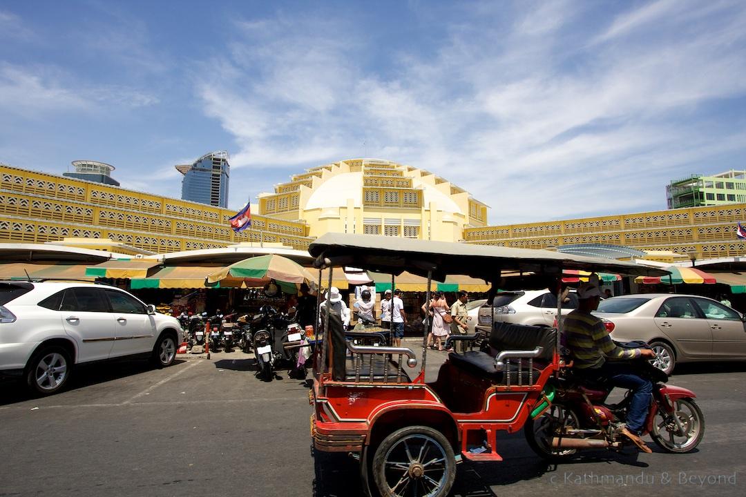 Psar Thmei (Central Market) Phnom Penh Cambodia   Architecture