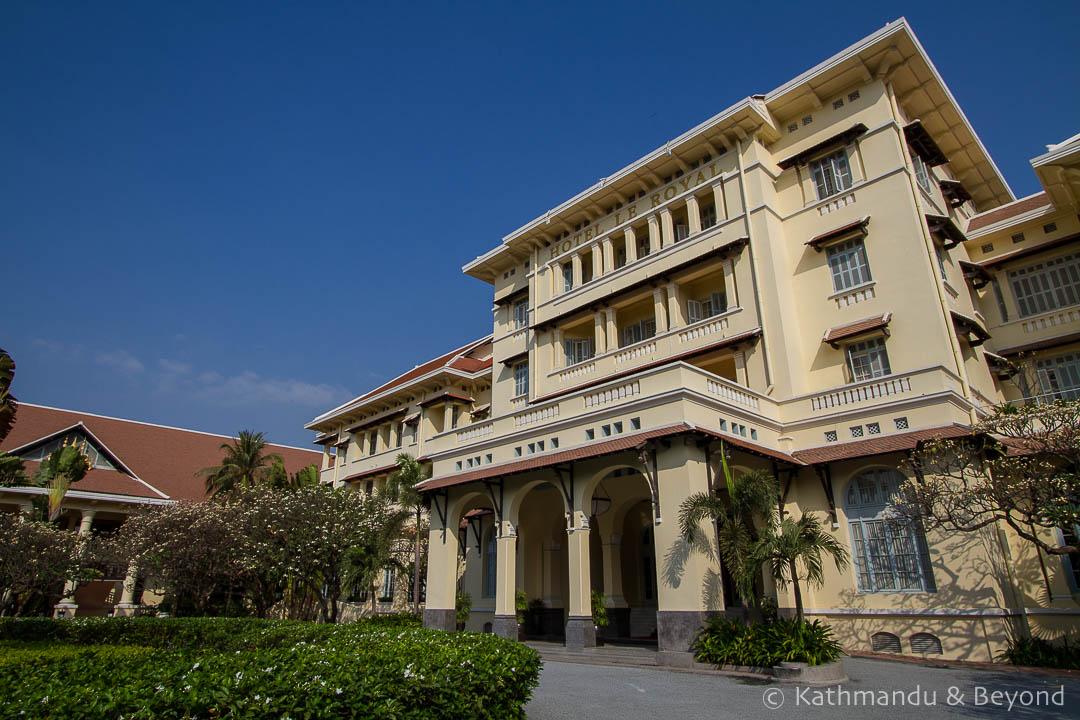 Raffles Hotel Le Royal Phnom Penh Cambodia   Architecture