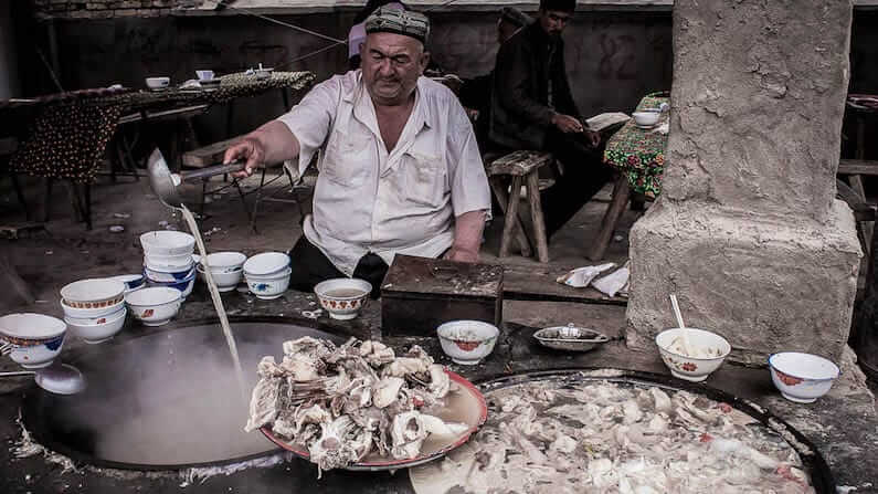 Travel Shot | The Sunday Market in Kashgar
