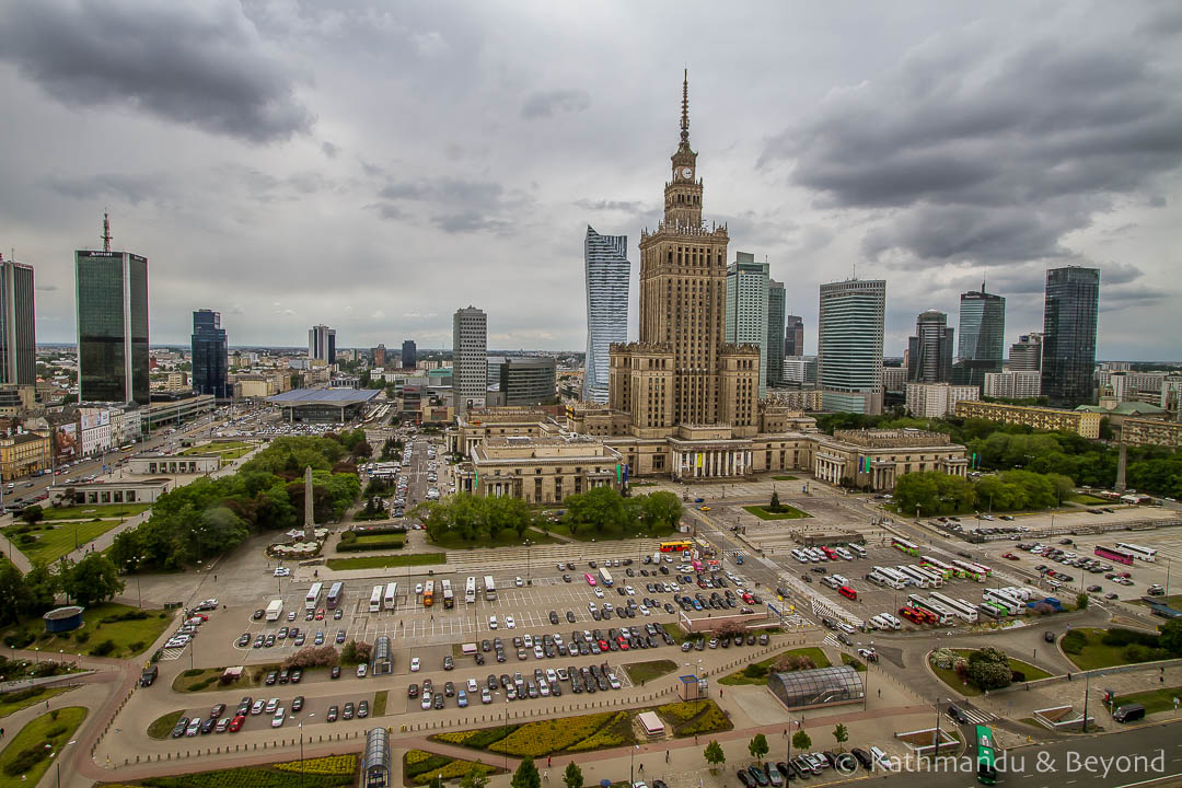 Palace of Science and Culture in Warsaw, Poland | Stalinist Empire style | Communist architecture | former Eastern Bloc