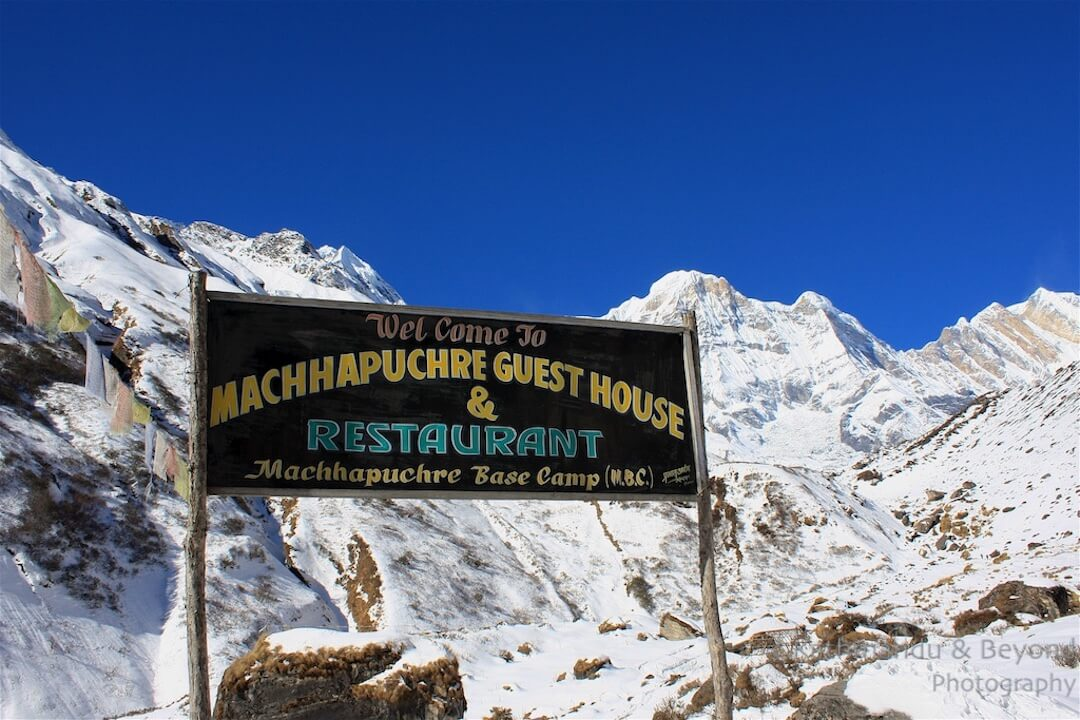 Annapurna region Annapurna Base Camp back to Machhapuchhare Base Camp-14