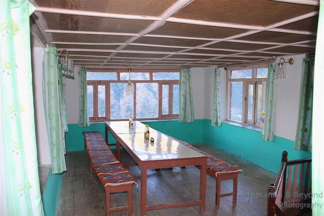 Annapurna region Landruk Hotel Hungry Eye