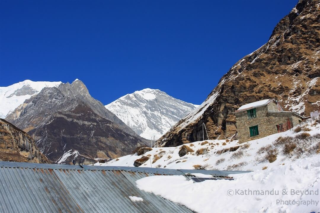 Annapurna region Machhapuchhare Base Camp-2