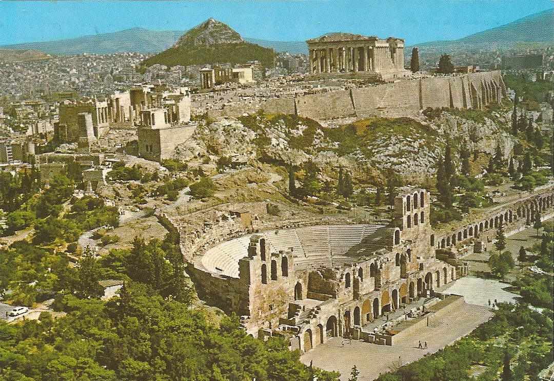 Postcard from Athens 28th February 1989