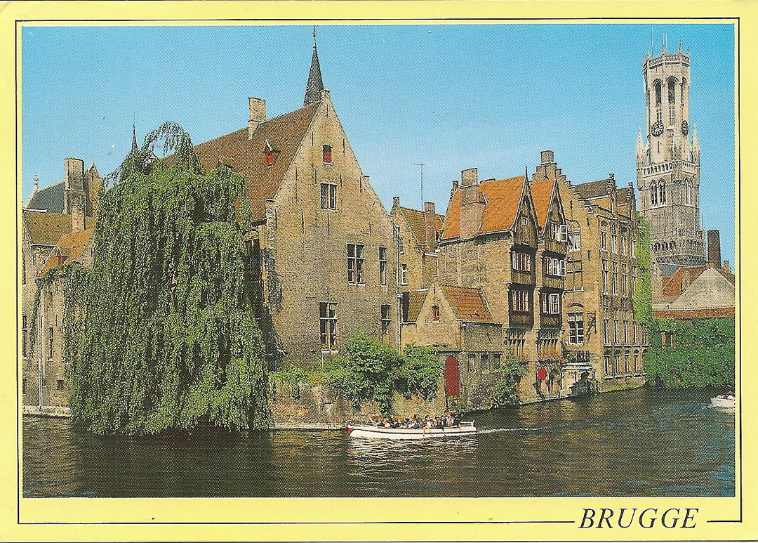 Postcard from Brugge 23rd March 1989