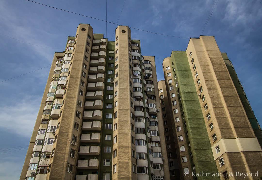 Residential Complex in Chisinau, Moldova | Brutalist | Soviet architecture | former USSR