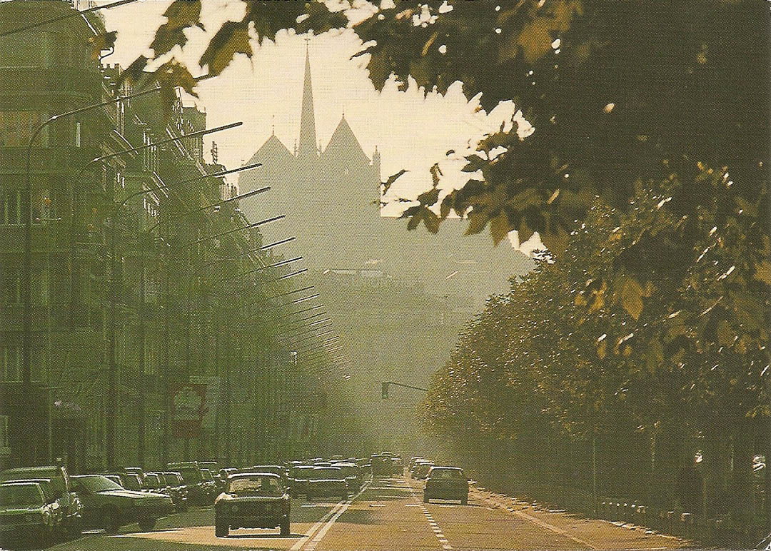 Postcard from Geneva 17th April 1989