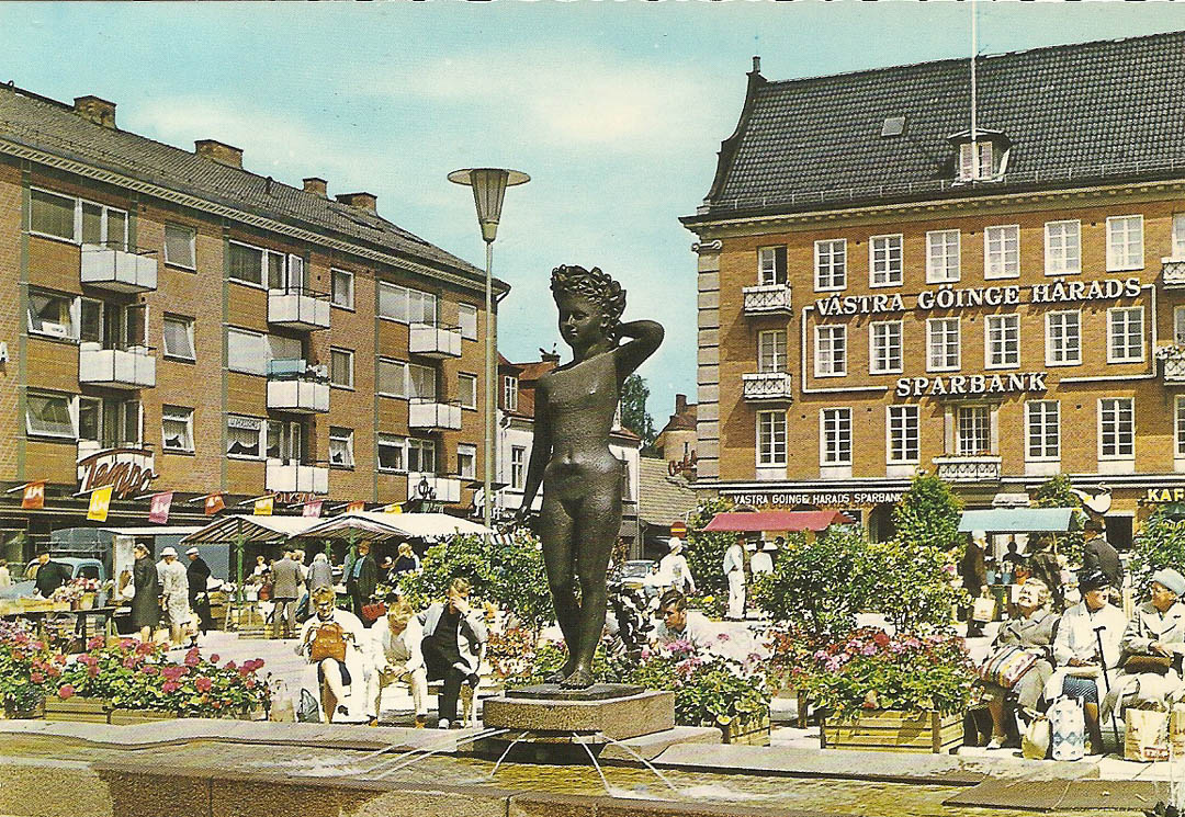 Postcard from Hassleholm 30th March 1989