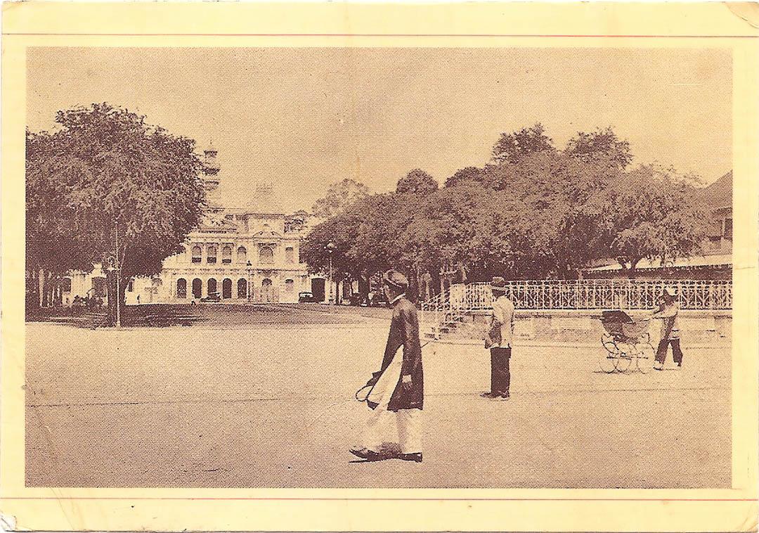 Postcard from Ho Chi Minh City 6th November 1992 (1)