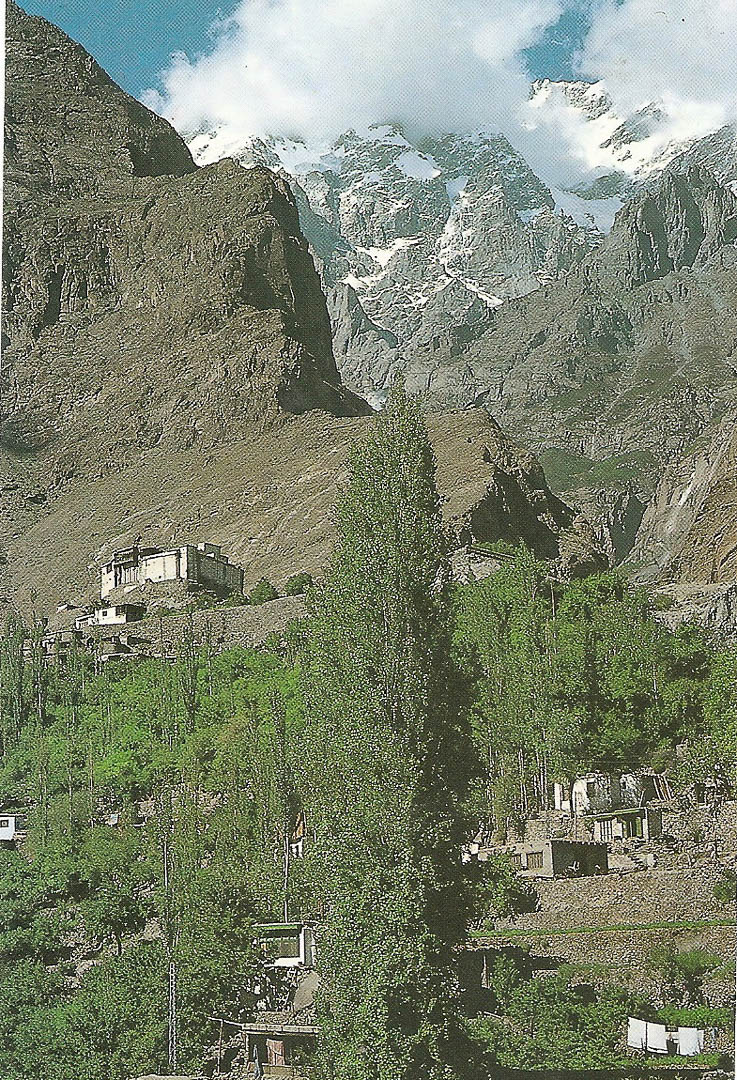 Postcard from Karimabad 25th September 1992