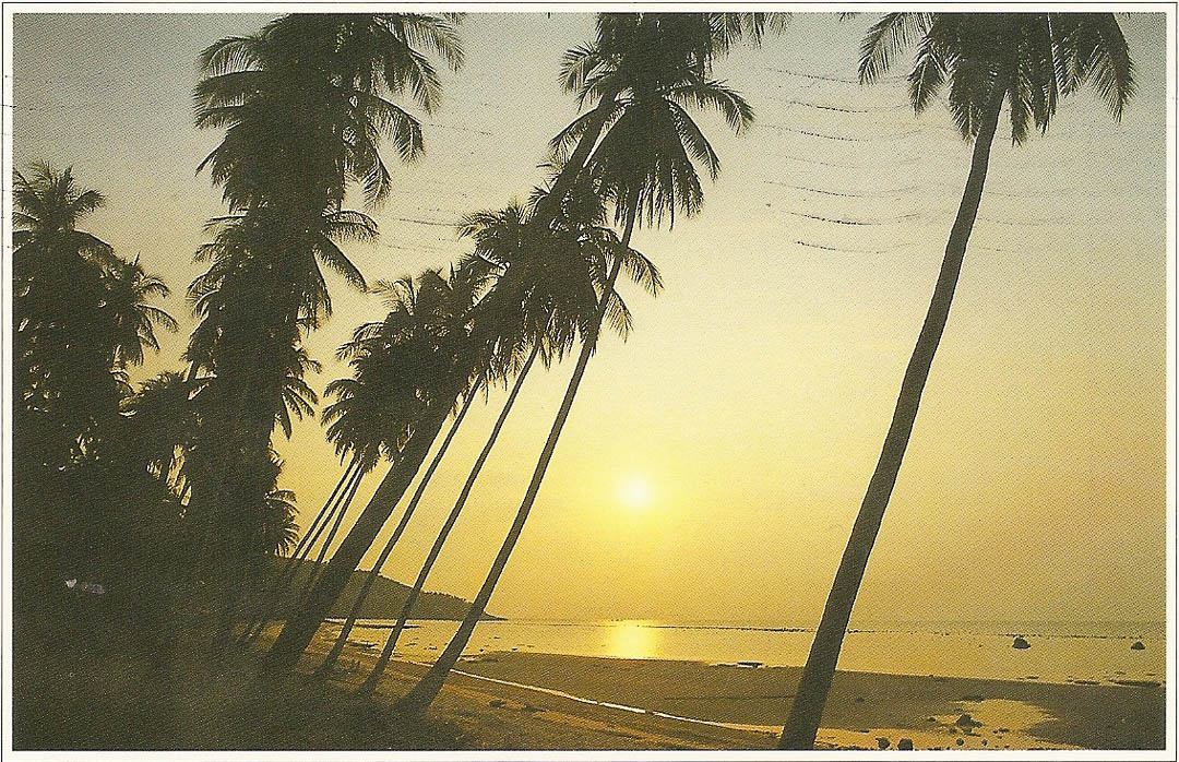 Postcard from Koh Samui 20th February 1992