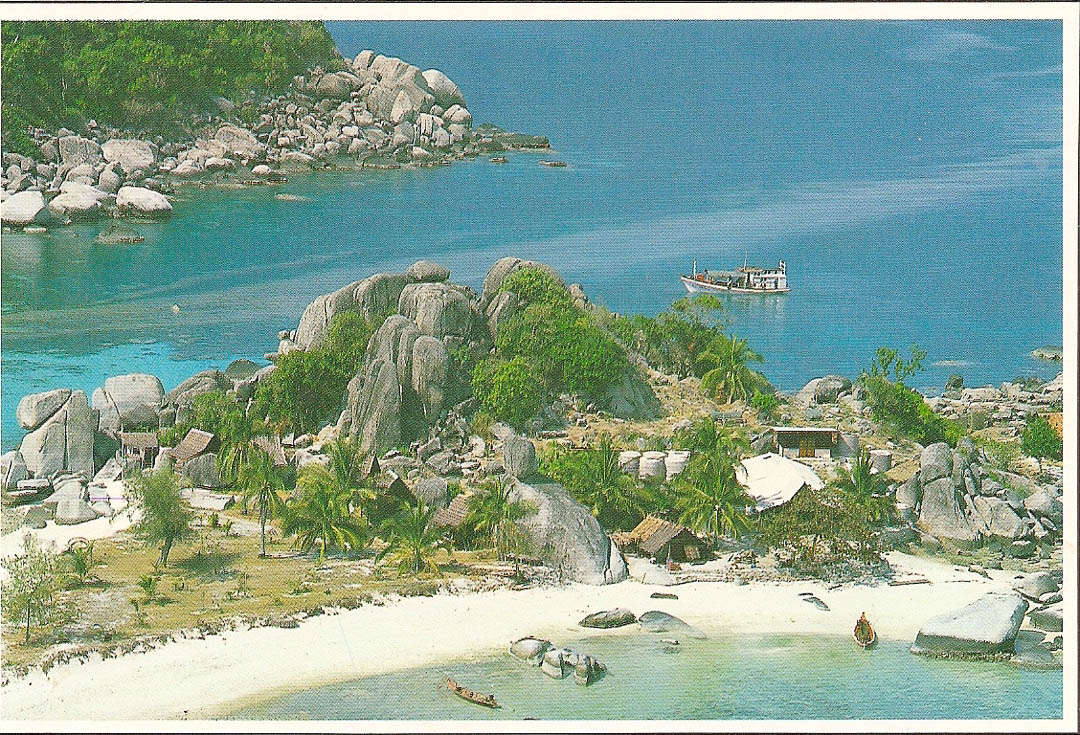 Postcard from Koh Tao 16th February 1992
