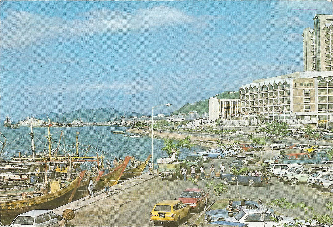 Postcard from Kota Kinabalu 10th July 1992
